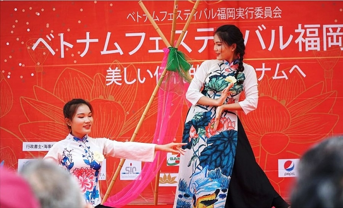 Vietnam Festival Fukuoka 2019 connects two cultures