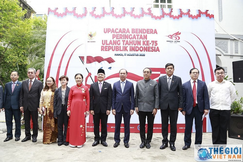 Indonesia's Independence Day marked in Hanoi